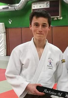 Antoine Maës ceinture noire!