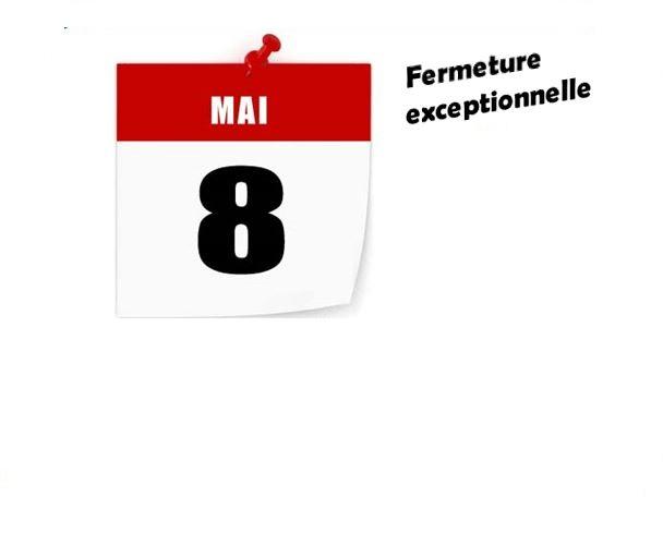 Fermeture du Dojo le 8 mai 2019