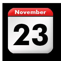 Annulation des cours le 23 Novembre 2019