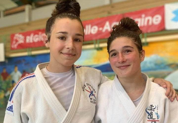 Liza 5ème et Clara 7ème au Tournoi International d'Aix en Provence