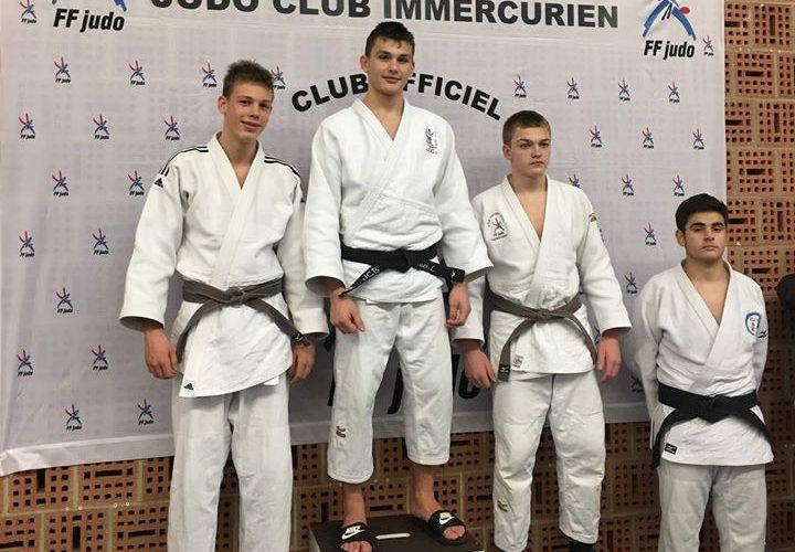 Lucas Merlier 1er au championnat Départemental